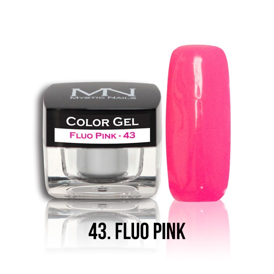 Color Gel - no.43. - Fluo Pink