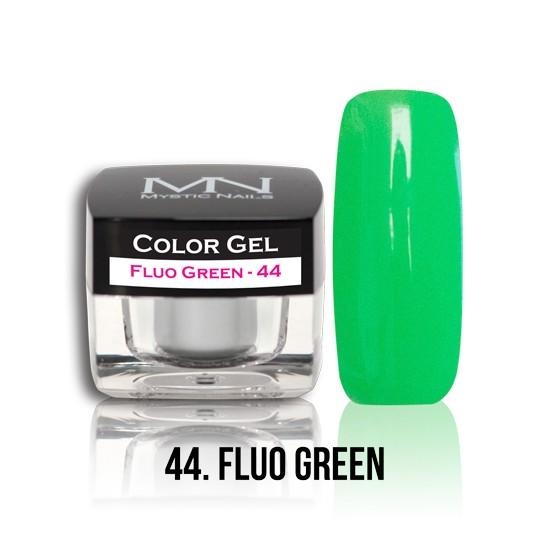 Color Gel - no.44. - Fluo Green