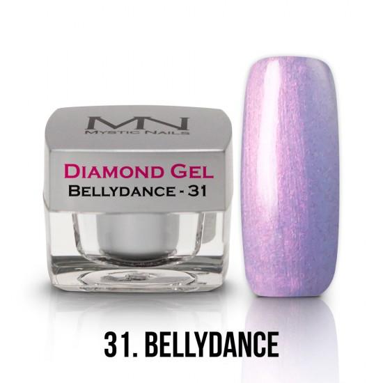 Diamond Gel - no.31. - Bellydance - 4g