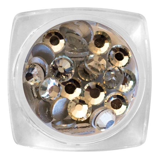 Crystal Stone - SS20 Silver 30 pcs / jar