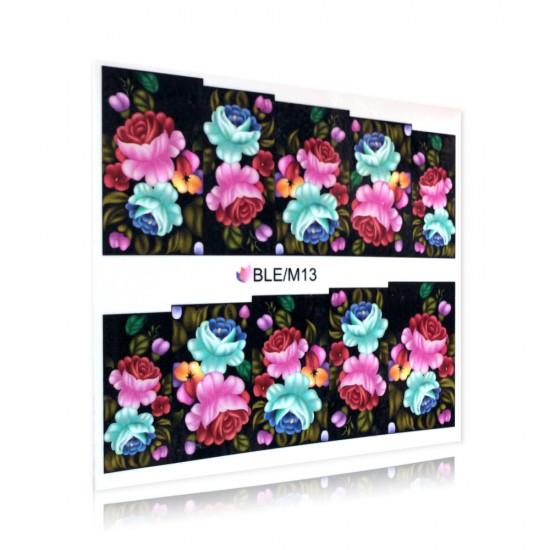 Flower pattern sticker - BLE/M13