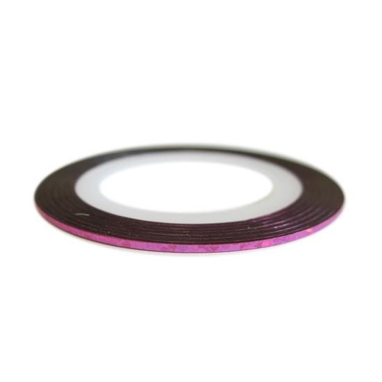 Traka za Nail Art  - Holo pink