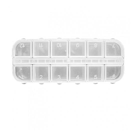 Plastična kutija - sa 12 odeljaka