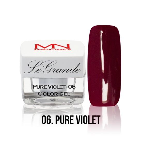 LeGrande Color Gel - no.06. - Pure Violet - 4 g