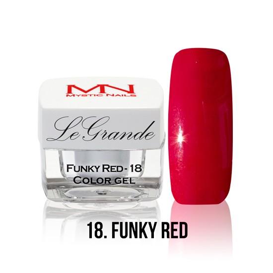 LeGrande Color Gel - no.18. - Funky Red - 4 g
