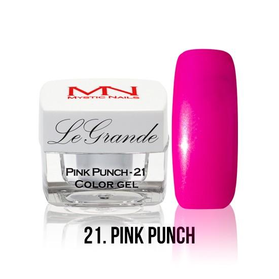 LeGrande Color Gel - no.21. - Pink Punch - 4 g