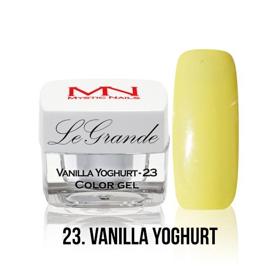 LeGrande Color Gel - no.23. - Vanilla Yoghurt - 4 g