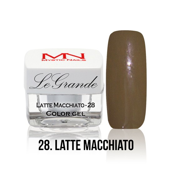 LeGrande Color Gel - no.28. - Latte Macchiato - 4 g