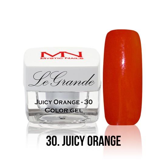LeGrande Color Gel - no.30. - Juicy Orange - 4 g