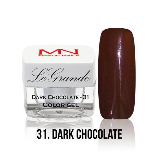 LeGrande Color Gel - no.31. - Dark Chocolate - 4 g