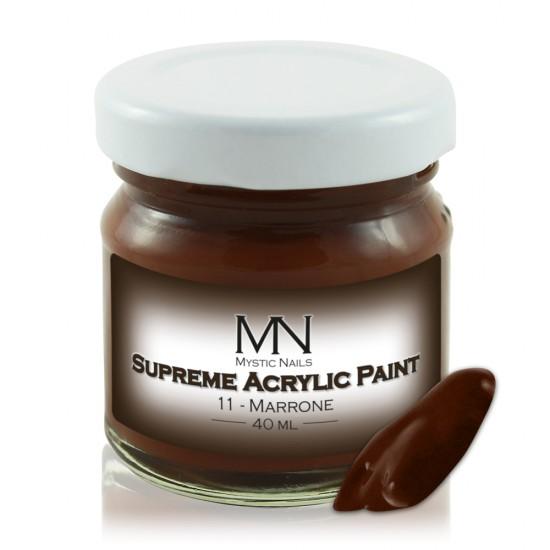 Supreme Akrilna boja  - no.11. Marrone - 40 ml