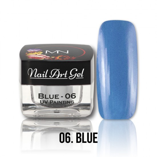 UV Painting Nail Art Gel - 06 - Blue - 4g