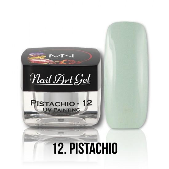 UV Painting Nail Art Gel - 12 - Pistachio - 4g