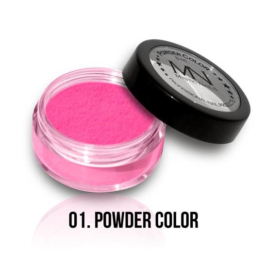 Akrilni prah u boji - 01 - 8 ml